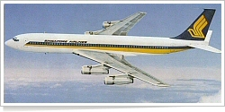 Singapore Airlines Boeing B.707-300 unknown