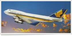 Singapore Airlines Boeing B.747-412 9V-SMA
