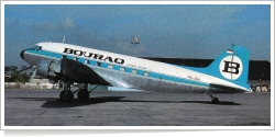 Bouraq Indonesia Airlines Douglas DC-3 (C-47A-DK) PK-IBA