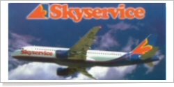 Skyservice Airlines Airbus A-320-212 C-GTDB