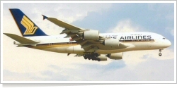 Singapore Airlines Airbus A-380-841 9V-SKB