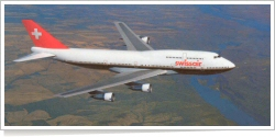 Swissair Boeing B.747-357 unknown