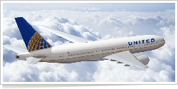 United Airlines Boeing B.777-200 unknown
