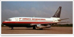 Airways International Cymru Boeing B.737-204 G-BAZI