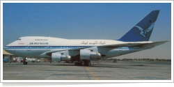 Air Gulf Falcon Boeing B.747SP-09 3D-GFD