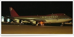 Northwest Airlines Boeing B.747-227B N633US