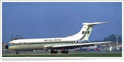 British United Airways Vickers VC-10-1103 G-ASIX